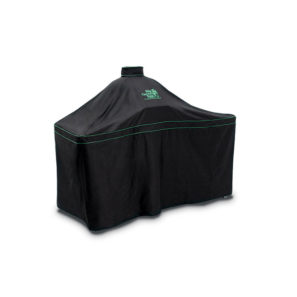 Big Green Egg Premium Ventilated Table Cover for LARGE EGG with Acacia Table