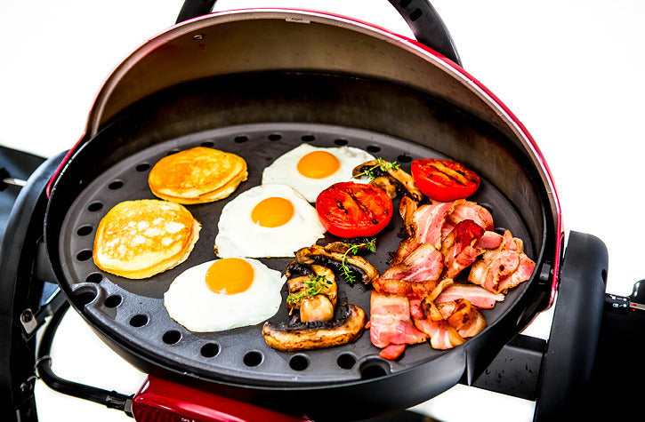 Ziegler & Brown Portable Grill Full Cast Iron Hotplate