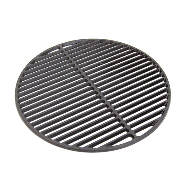 Big Green Egg Cast Iron Dual Side Grid 18in/46cm (LARGE)