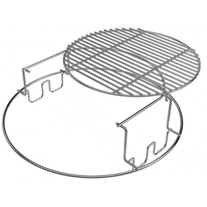 Big Green Egg EGGspander System, Large, 2 Piece, 2 Tier Rack (LARGE)