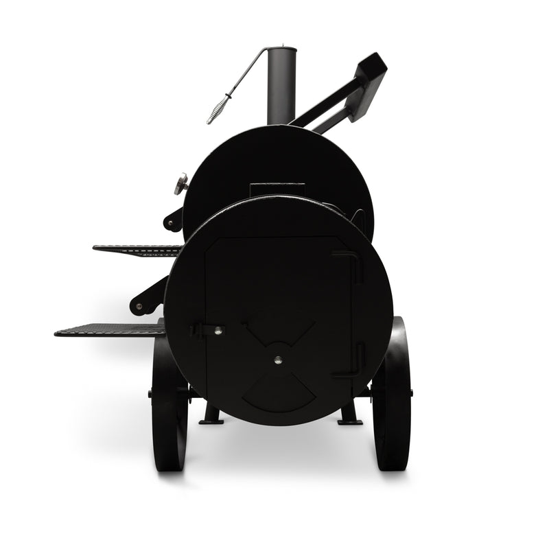 "Yoder Kingman 24"" Offset Smoker"
