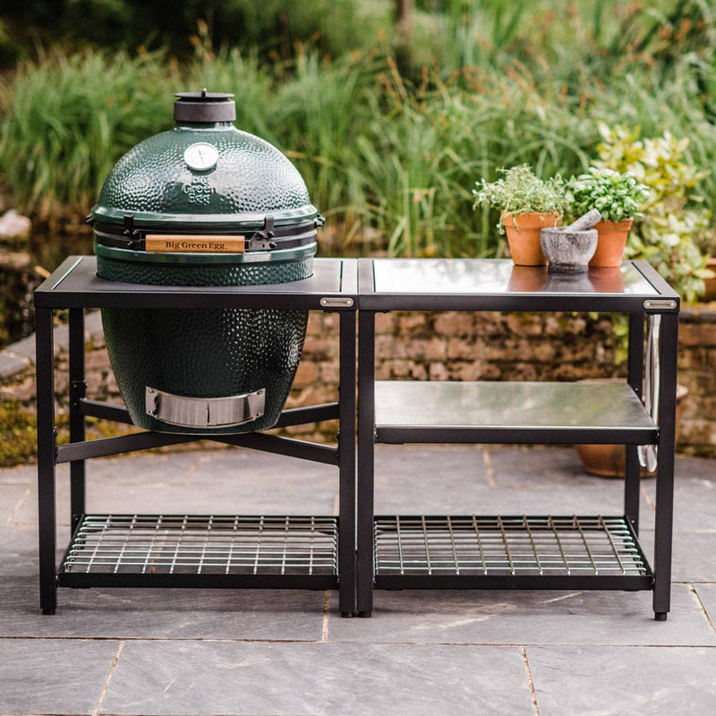 Big Green Egg Large Big Green Egg (LARGE) - Modular Frame Nest Extended Stainless Steel Bundle
