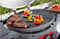 Ziegler & Brown BBQ Triple Grill Large Middle Hotplate