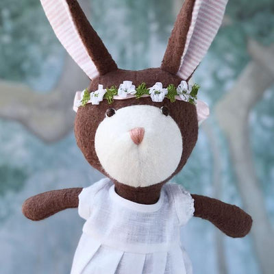 Hazel Village - Zoe Rabbit in Spring Dress Outfit
