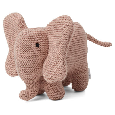 Vigga Knit Mini Teddy Elephant Rose LIEWOOD