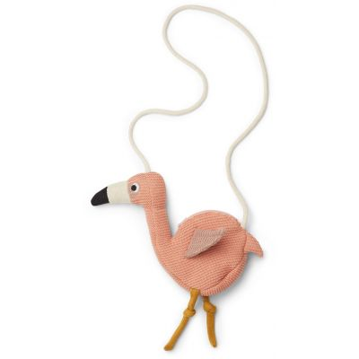 Liewood - Flamingo Knitted Bag - Coral Rose