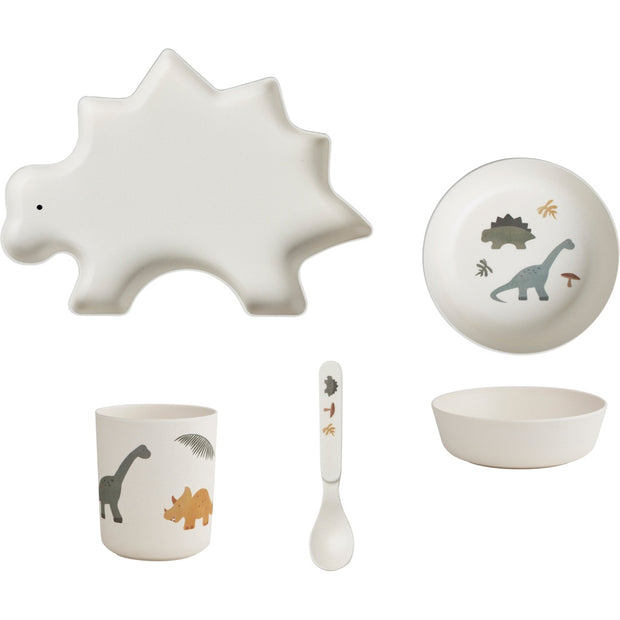 Liewood - Bamboo Tableware Box Set - Dino Mix