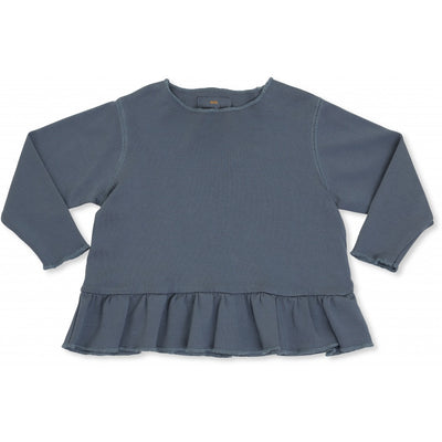 New Ebi Frill Blouse Thunder Cloud Konges Slojd