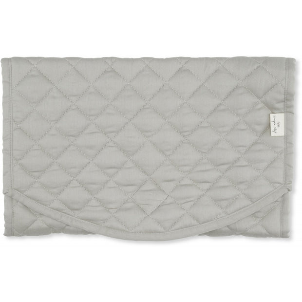 Quilted Parent Bag Blue Blossom Mist Konges Slojd