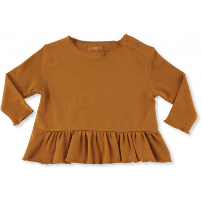 New Ebi Frill Blouse Toffee Konges Slojd