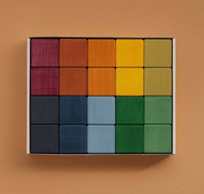 Raduga Grez - Earth Cubes Set - 20 Cubes