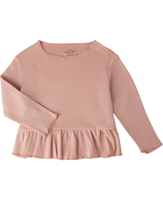 New Ebi Frill Blouse Cameo Rose Konges Slojd