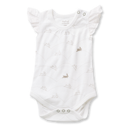 Sapling Child - Bunny Lace Bodysuit