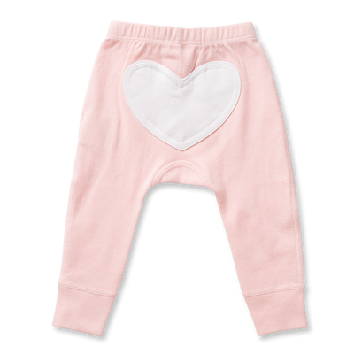 Floral Pink Heart Pants Sapling Child