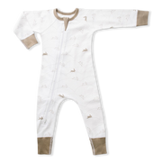 Bunny Zip Romper Sapling Child