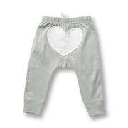 Wooded Grey Heart Pants Sapling Child