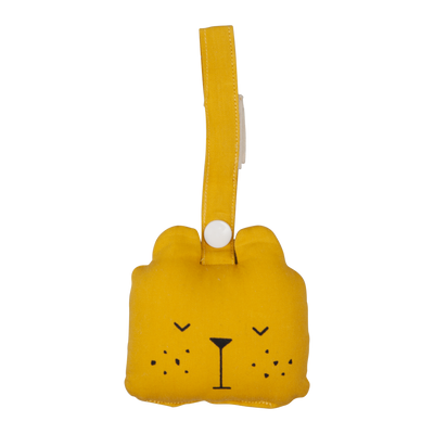Fabelab - Animal Rattle - Bear Honey