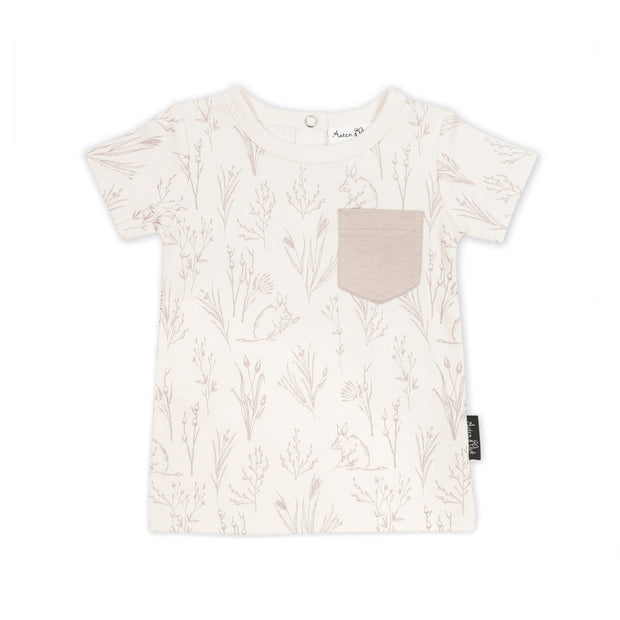 Aster and Oak - Bilby Pocket Tee
