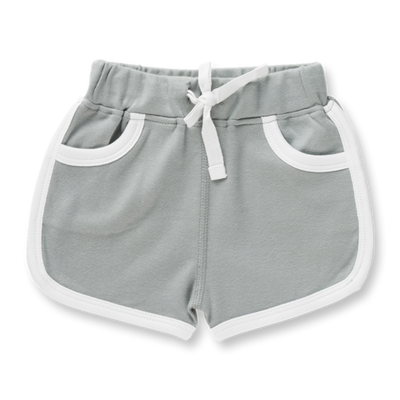 Neutral Grey Shorts Sapling Child