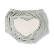 Sapling Child - Dove Grey Heart Bloomers