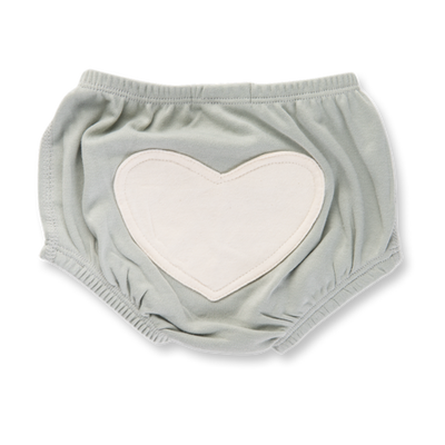 Dove Grey Heart Bloomers Sapling Child