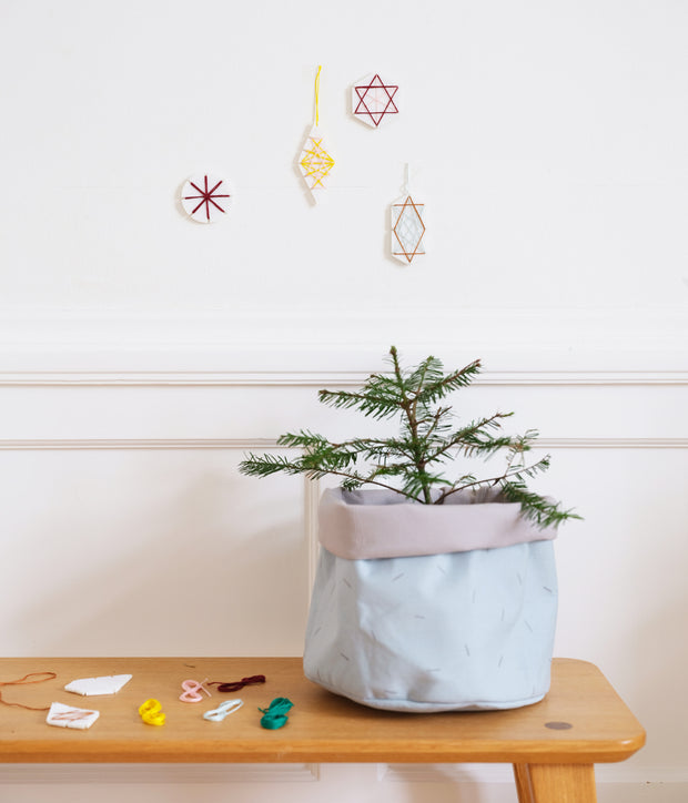 Fabelab - Geometric Christmas Ornament Craft