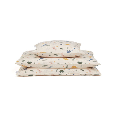 Ingeborg Junior Bedding Dino Mix Cot LIEWOOD