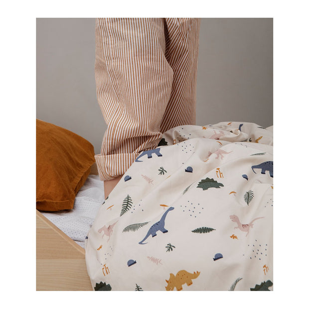 Liewood - Carl Bedding Single - Dino Mix