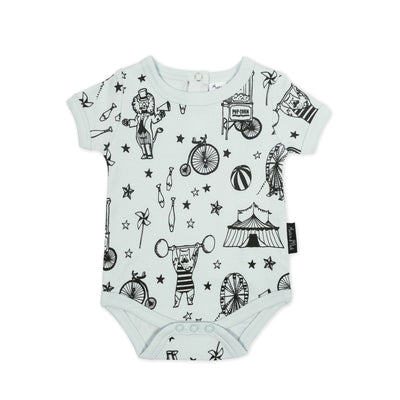 Mint Circus Onesie Aster and Oak