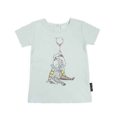 Bunny Circus Mint Tee Aster and Oak