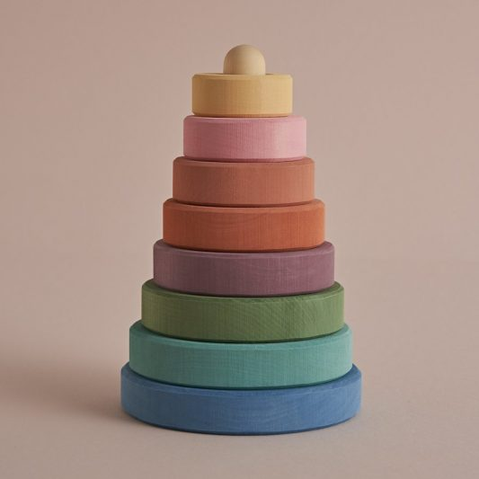 Raduga Grez - Pastel Stacking Tower