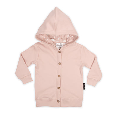 Peach Circus Hooded Lightweight Cardigan Aster and Oak