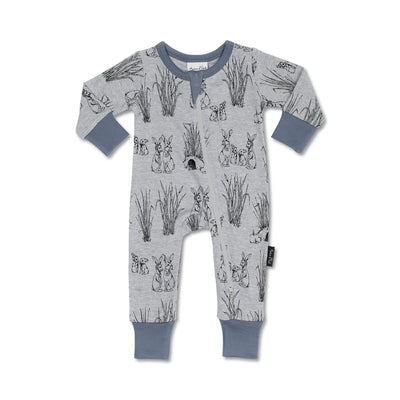 Aster and Oak - Burrow Zip Romper