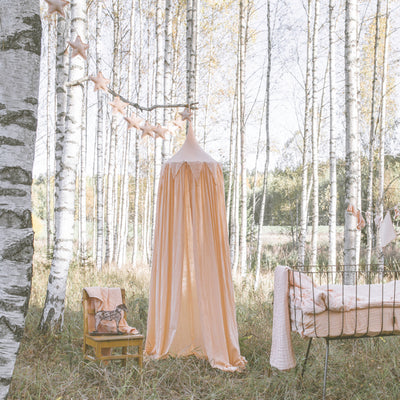 Numero 74 - Circus Bunting Canopy - Pale Peach