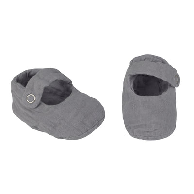Sissi Baby Slippers - Stone Grey - Numero 74