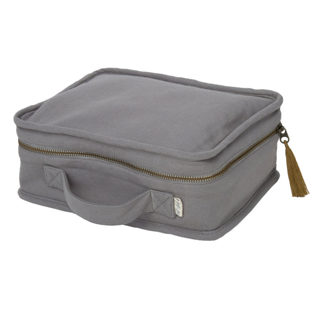 Suitcase Small - Stone Grey - Numero 74