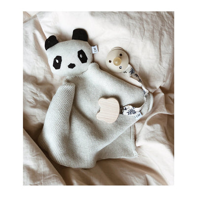 Milo Knit Cuddle Cloth - Panda Beige Beauty - LIEWOOD