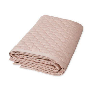 Wave Quilt Dusty Rose Baby Cam Cam Copenhagen