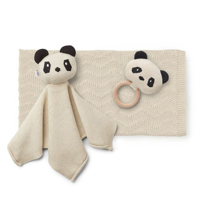 Liewood - Petra Baby Knit Package - Panda Beige Beauty