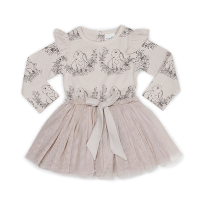 Aster and Oak - Bunny Tutu Bow Dress