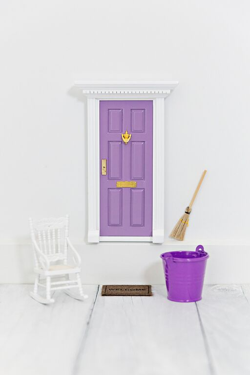 The Fairy Door Store - Door mat and Broom Stick