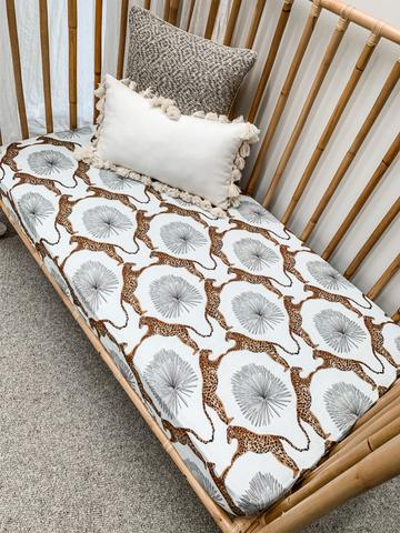 Pop Ya Tot - Jafari Muslin Sheet - Cot