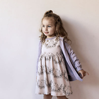 Aster and Oak - Bunny Henley Skater Dress
