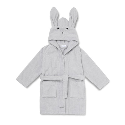 Liewood - Lily Bathrobe - Rabbit Dumbo Grey