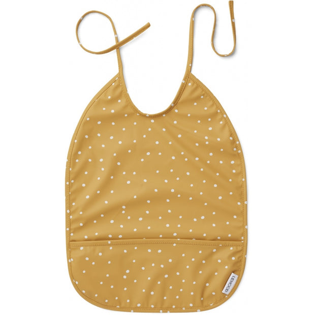 Liewood - Lai Bib 100% Recycled Polyester - Confetti Yellow Mellow
