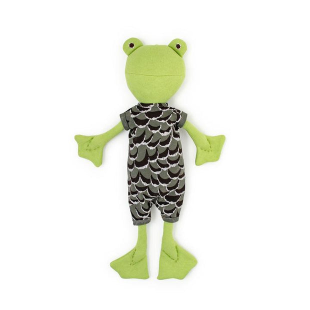 Hazel Village - Lewis Toad in Adventure Romper