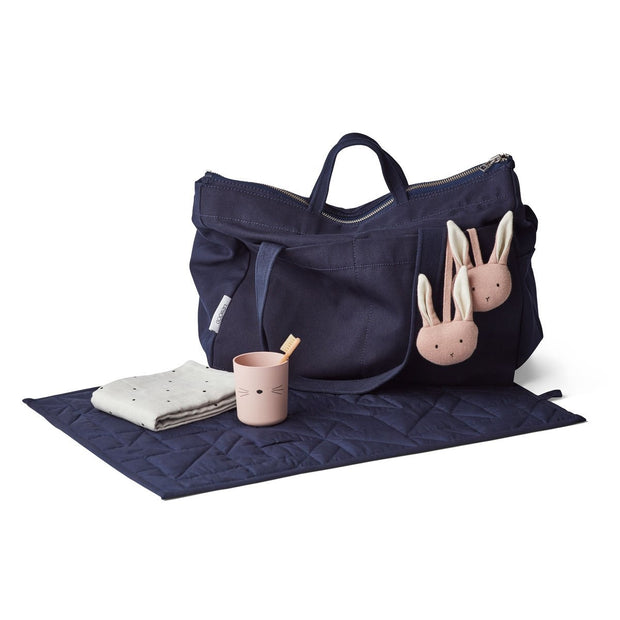 Melvin Parent Bag - Navy - LIEWOOD