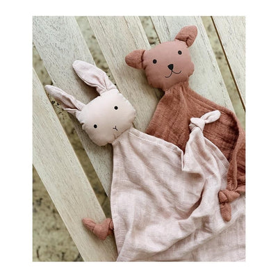 Liewood - Yoko Mini Cuddle Cloth - 2 Pack - Rose Mix