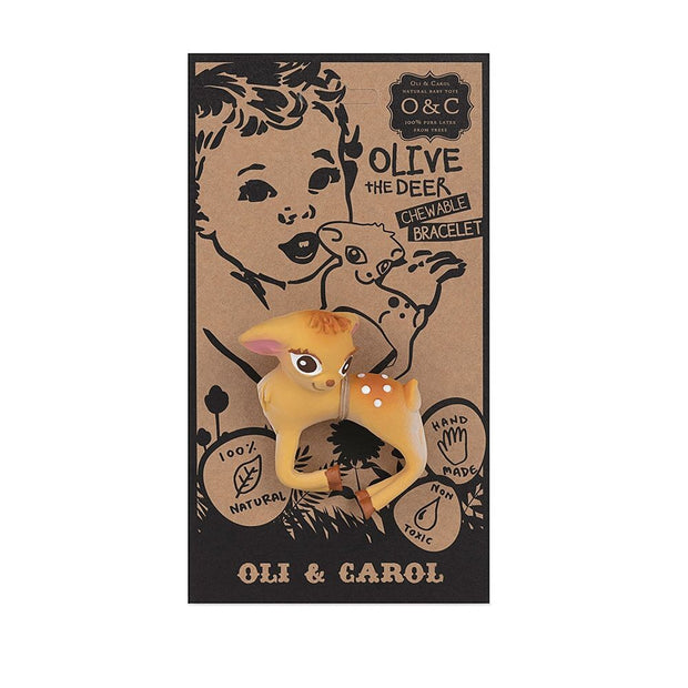 Oli & Carol - Olive the Deer Bracelet