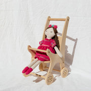 Pretty In Pine - Doll's Pram